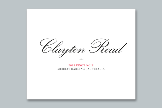 ontwerp wine labels ad Bibendum - Miet Marneffe - clayton road