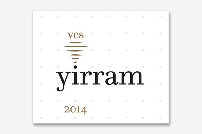ontwerp wine labels ad Bibendum - Miet Marneffe - yirram