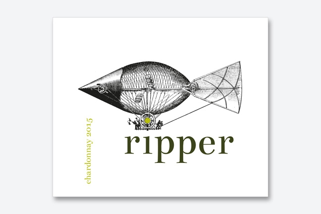 ontwerp wine labels ad Bibendum - Miet Marneffe - ripper