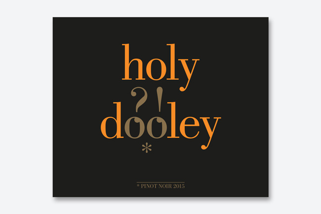ontwerp wine labels ad Bibendum - Miet Marneffe - holy dooley