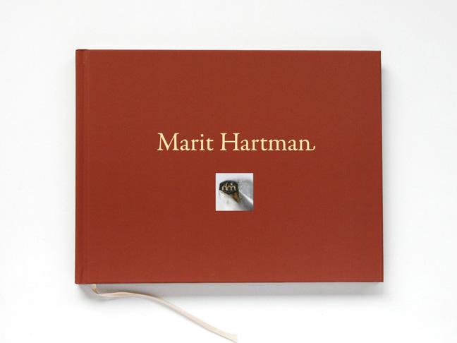 Marit Hartman, ontwerp Oeuvre-catalogus - Miet Marneffe
