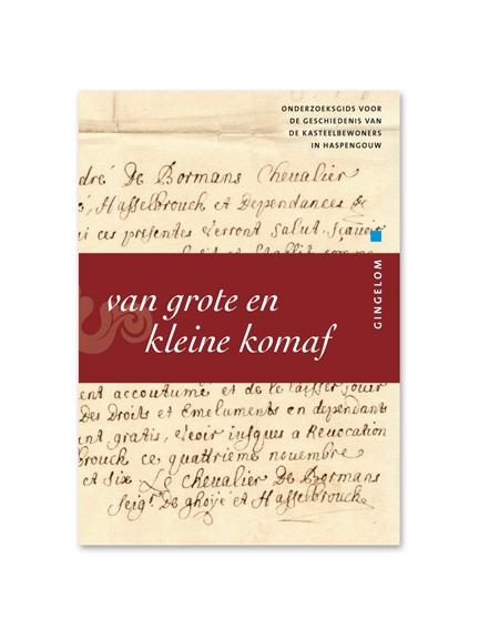 ontwerp reeks boekjes - onderzoeksgidsen - erfgoedcel Sint-Truiden - door Miet Marneffe