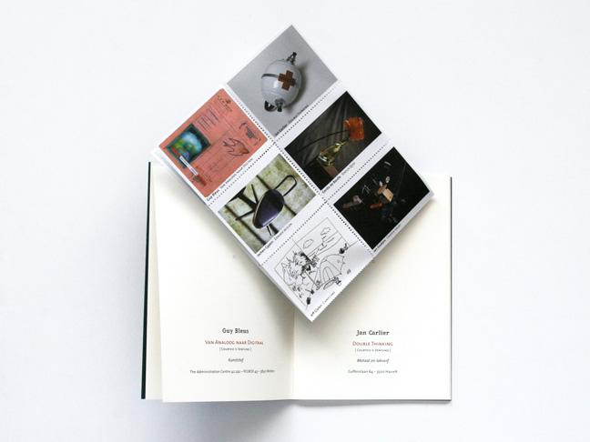 ontwerp tentoonstellingscatalogus - © grafiet - Miet Marneffe