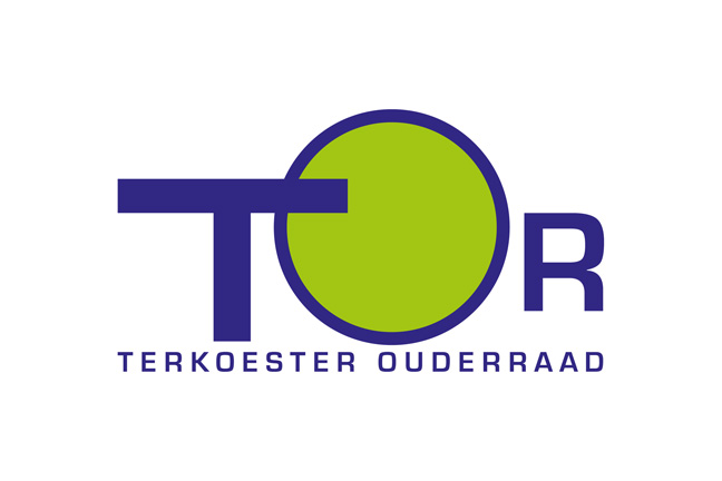 ontwerp logo en affiches Terkoester Ouderraad (Alken) - grafiet - Miet Marneffe
