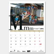 ontwerp kalender TOR - Miet Marneffe - grafische vormgeving